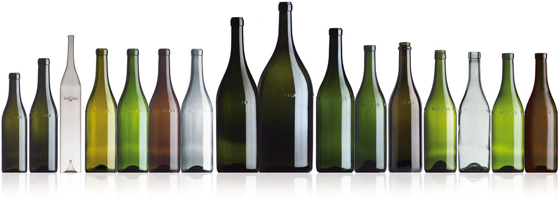 Le bottiglie Albeisa